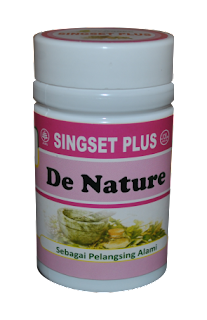 Obat Herbal Singset Plus De Nature Indonesia