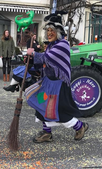 carnaval Rapperswil défilé
