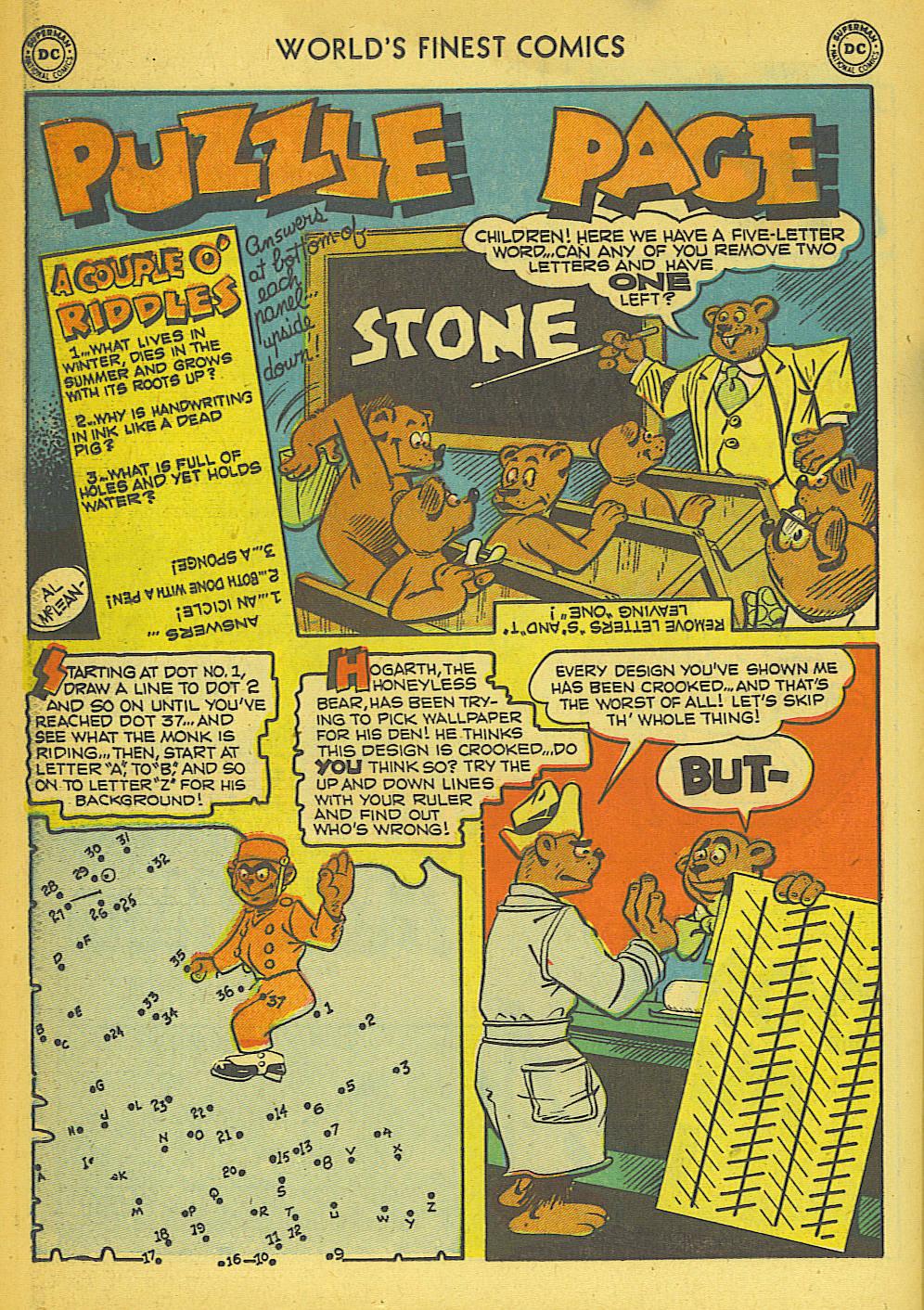 Read online World's Finest Comics comic -  Issue #57 - 50