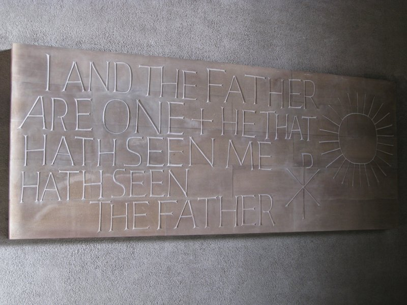 I and the Father are one