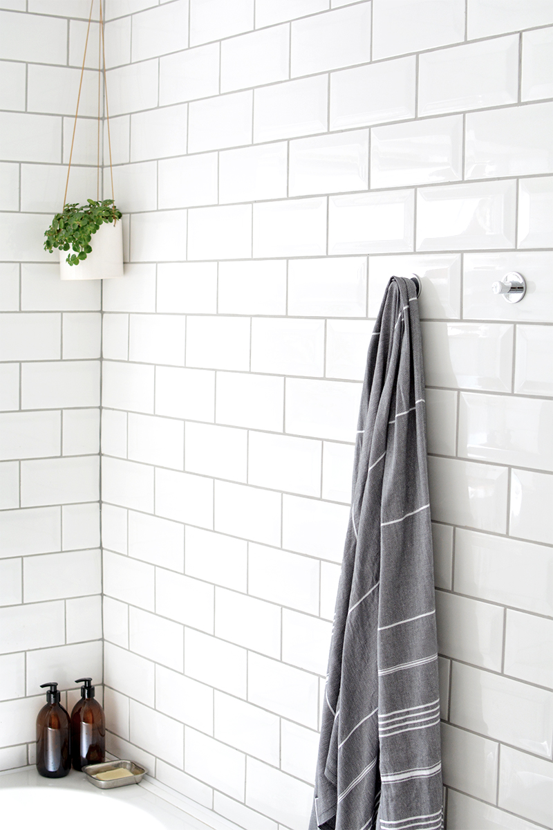 metro tiles bathroom diy