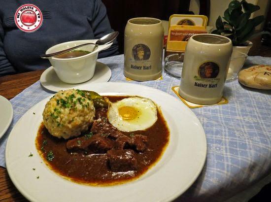 Cerveza en Kaiser Karl, Salzburgo