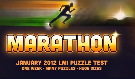 Puzzle Marathon 2012 @ Logic Masters India