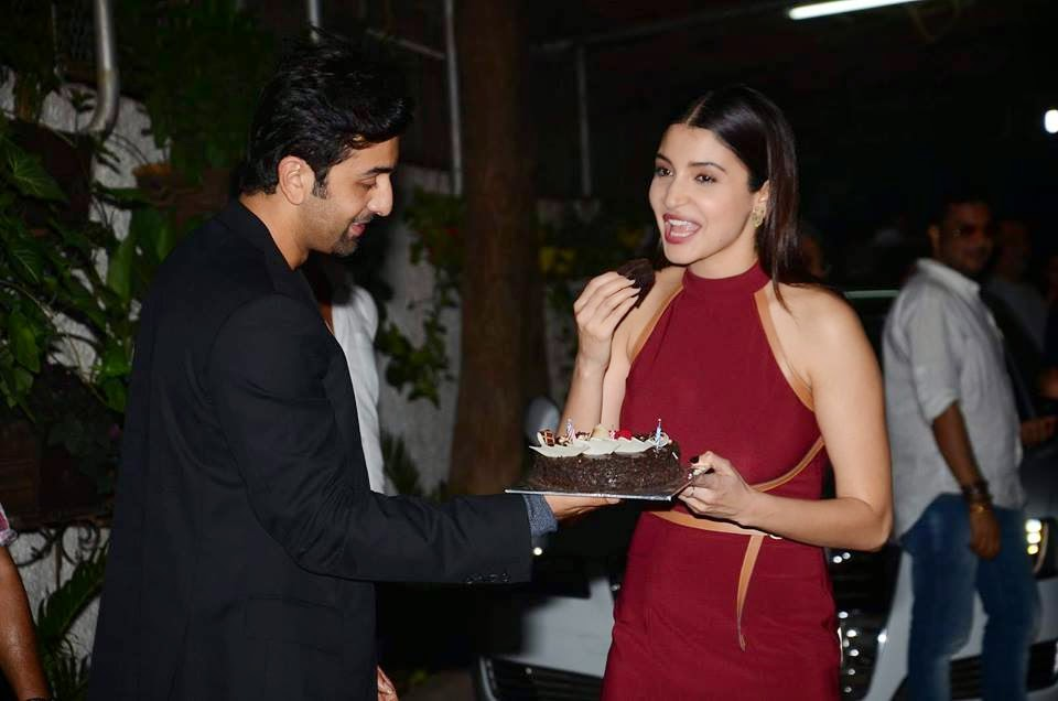 Anushka Sharma at 'Bombay Velvet' Screening on her Birthday