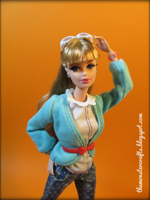 Barbie Style Luxe Midge fashion doll photography
