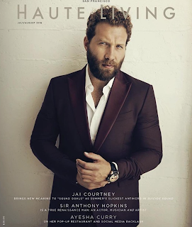 Jai Courtney covers Haute Living magazine August 2016 issue. talks about Suicide Squad. Details at JasonSantoro.com