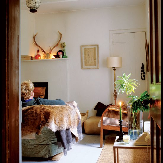 Eclectic Cottage Living Room: Automatism: Cottage Love