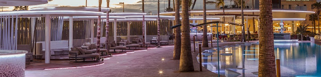 Lounge del marina beach club valencia
