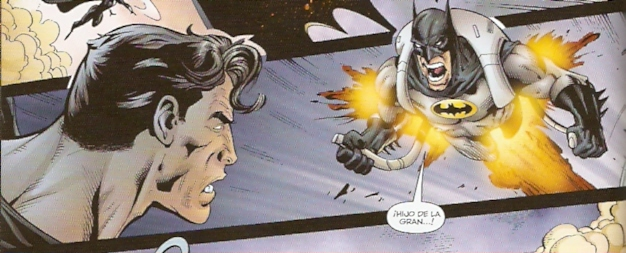 Sí señores, a veces Batman está a punto de decir palabrotas