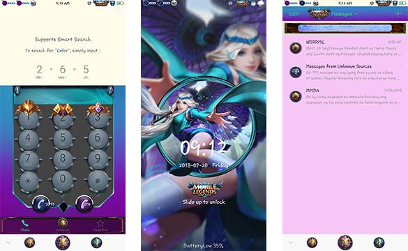 Oppo Theme: Oppo Mobile Legends Theme