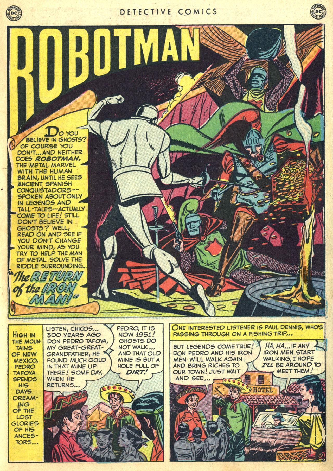 Read online Detective Comics (1937) comic -  Issue #168 - 29