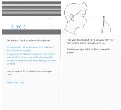 Mengatur Iris Scanner Samsung Galaxy S8