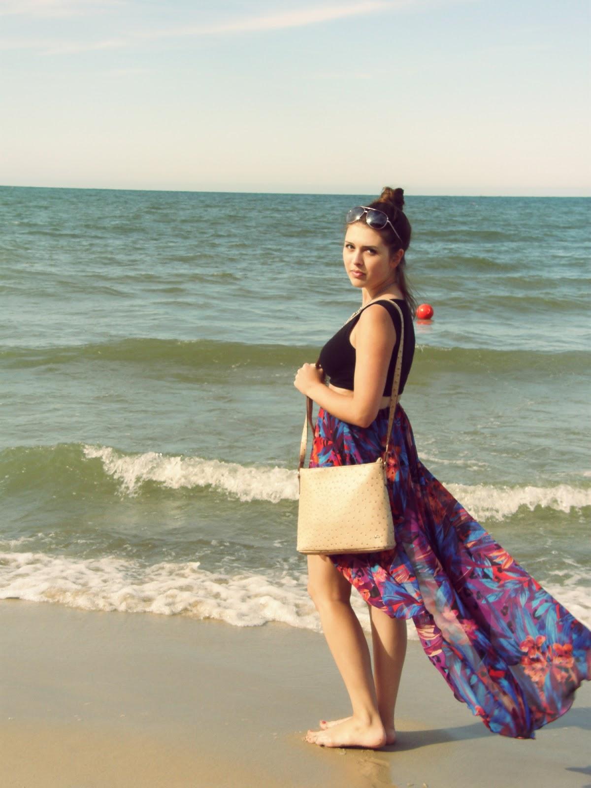 Wakacje nad morzem Chlapowo . Jak sie ubrac na plaze? DAY 2