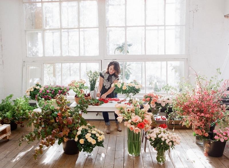 estudio floral