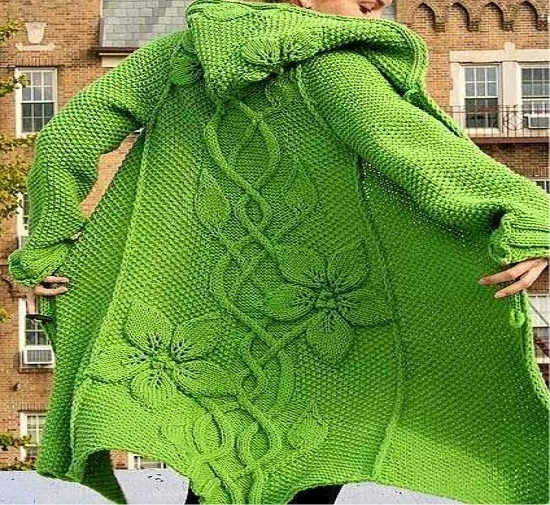Beautiful Knitting coat - Free Crochet Patterns