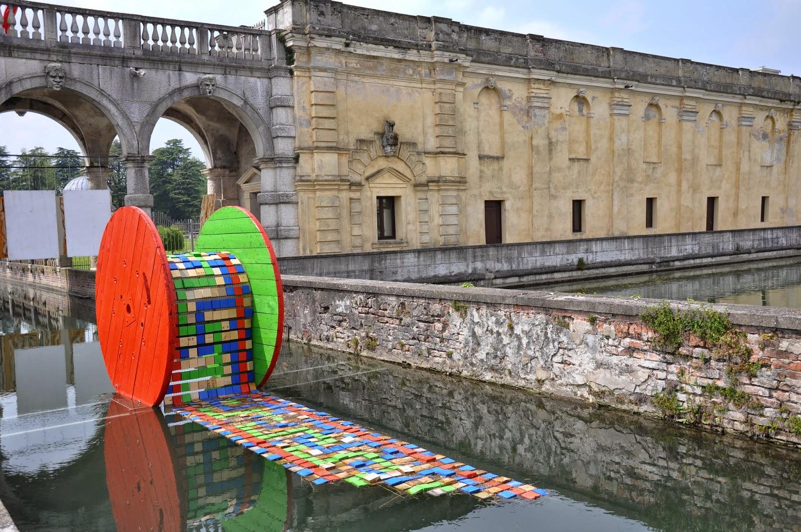 Eloisa Gobbo, Unita di Strada, Villa Contarini modern art exhibition, Piazzola sul Brenta, Veneto, Italy