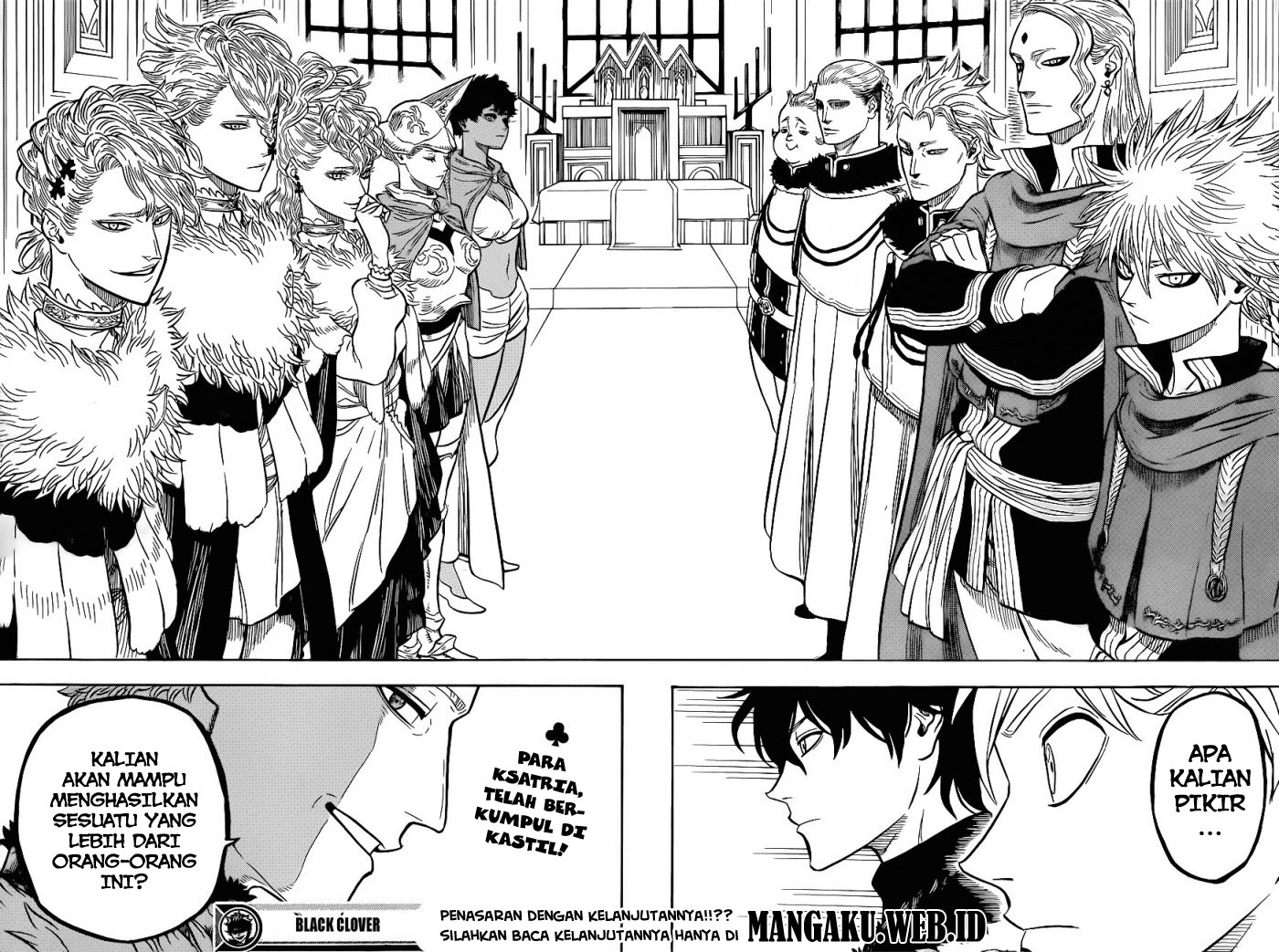 Baca Manga Black Clover Chapter 22 Bahasa Indonesia