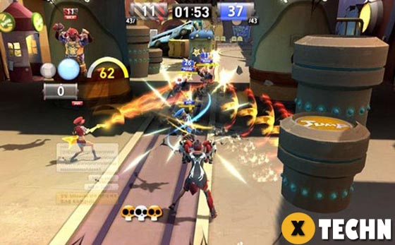 Download fighting game Brawl Busters for PC 2019