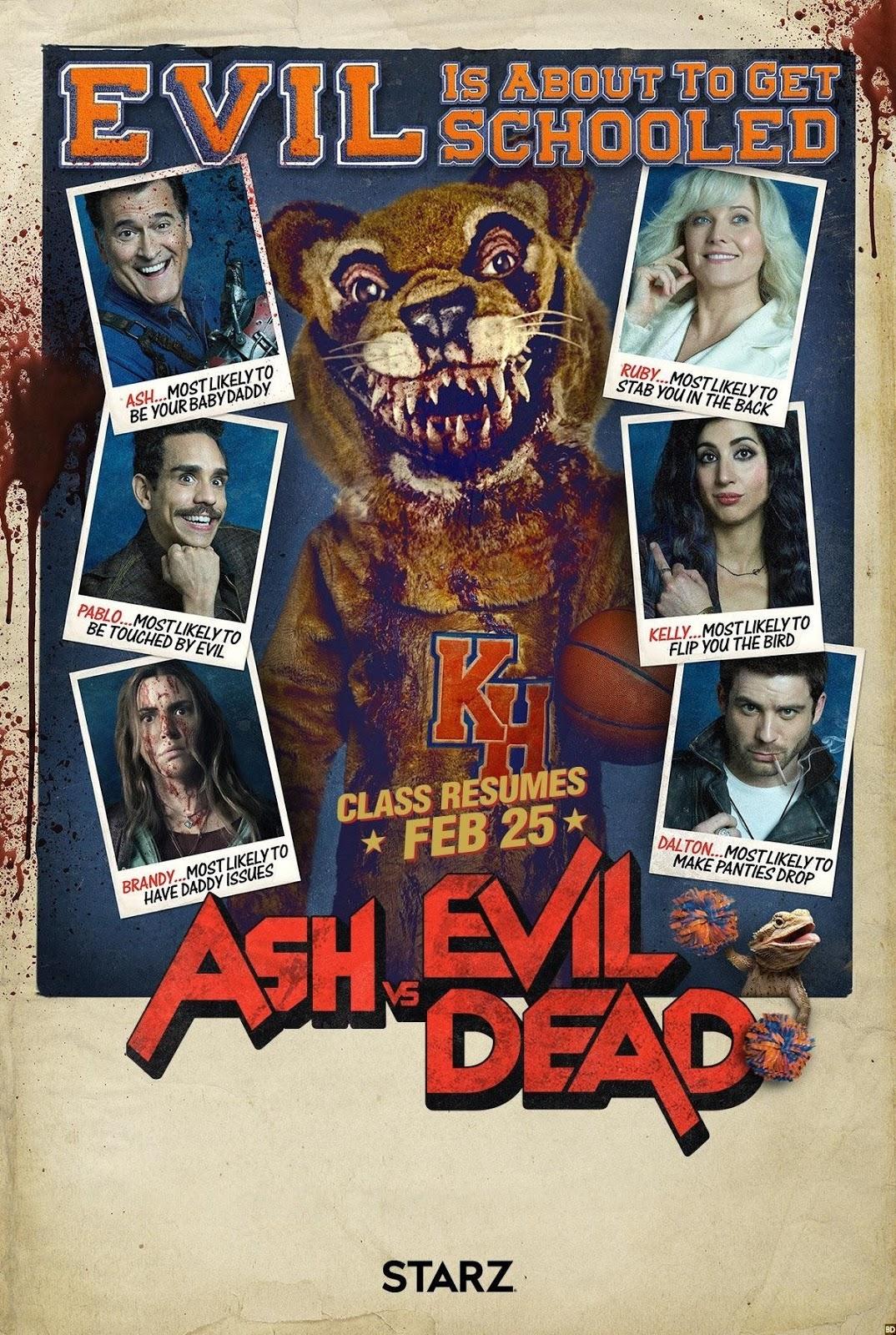 Эш против зловещих мертвецов, Ash vs Evil Dead, третий сезон, Season 3, кадры фото постеры картинки скриншоты, Screens Shots Poster Banner, ужасы, хоррор, сериалы, Horror, TV Series