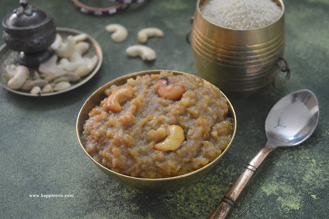 Little Millet Sweet Pongal | Samai Sarkarai Pongal
