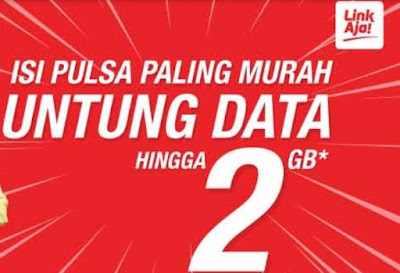 Beli Pulsa Gratis Kuota Data Hingga 2GB Hanya di LinkAja