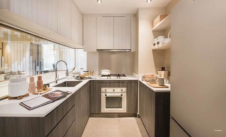 Gem Residences kitchen appliances