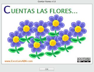 Contar flores.