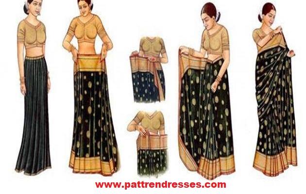 تعلم كيف يتم خياطة الساري هندي