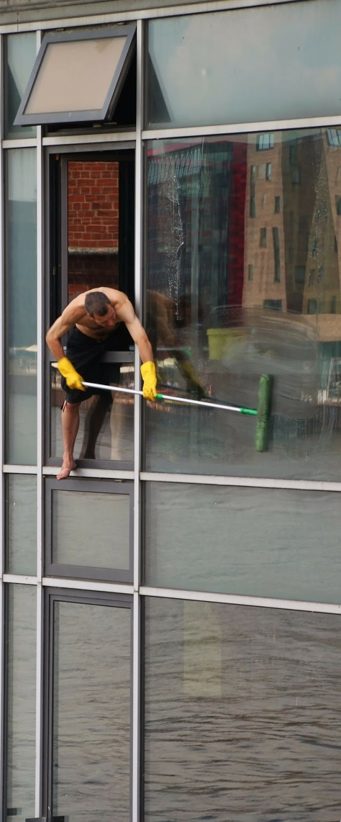 Window cleaner.