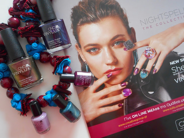 CND Vinylux Weekly Polish Nightspell Collection