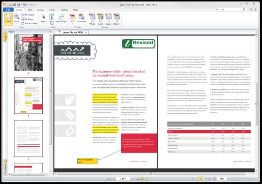 Nitro PDF Reader Terbaru (Softaware Membuat & Konversi File FDF)