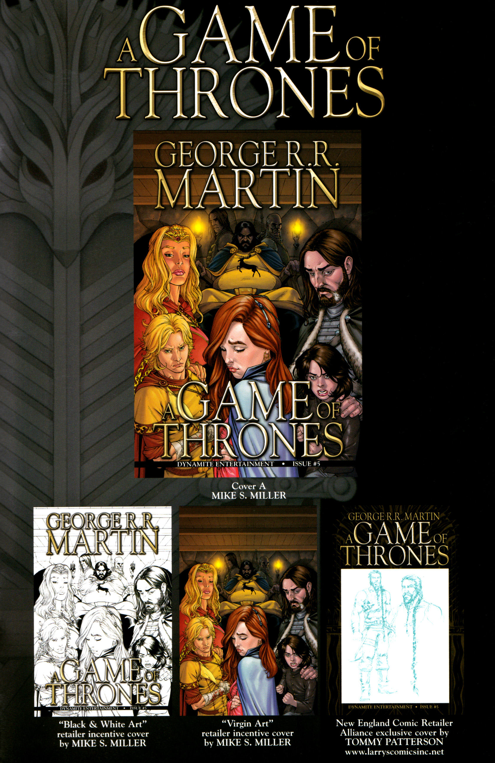 Read online A Game Of Thrones comic -  Issue #5 - 35
