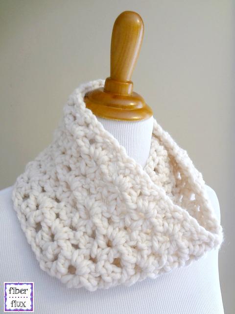 Fiber Flux One Skein Cowls 20 Free Crochet Patterns