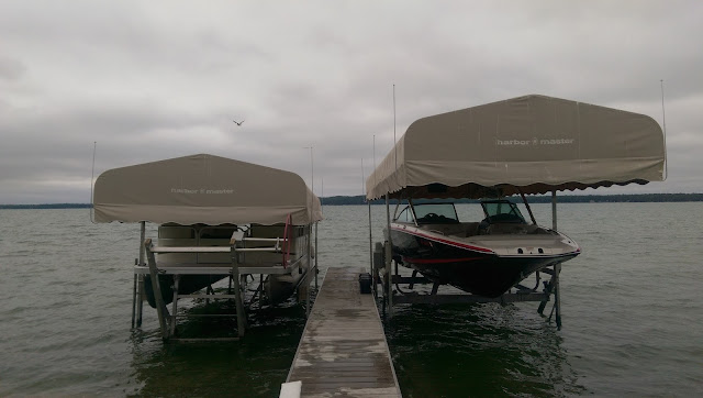 DIY Boat Canopy Bird Seagull Wire Deterrent
