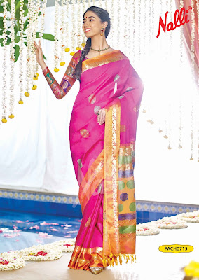 Nalli Silks Deepali Silk Sari Collection