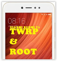 TWRP and Root Xiaomi Redmi Y1 (Note 5A)