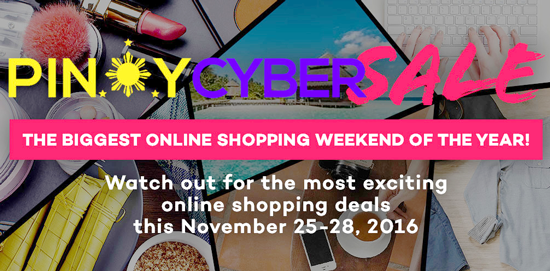 ONLINE BARGAINS FROM NOV. 25 – 28,  20% REBATE FROM GCASH AMERICAN EXPRESS VIRTUAL CARD