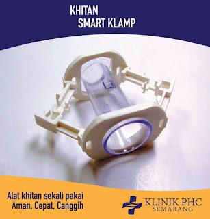Smart Klamp Square Alat Khitan Sekali Pakai