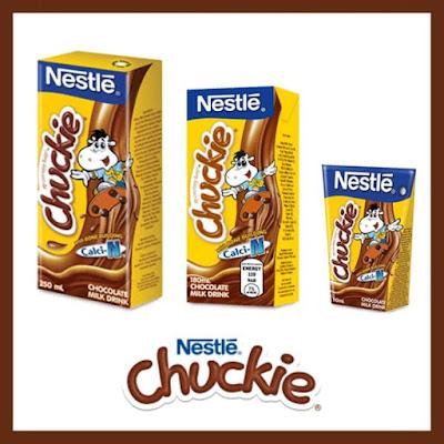 Nestle Chuckie size variants