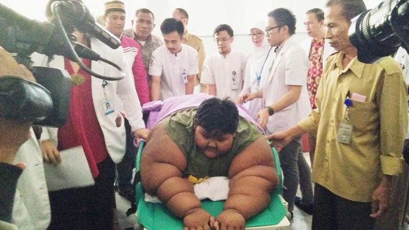 Arya Permana diperiksa tim medis RSHS Bandung