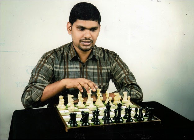 Mohammed Salih - Chess player with visual disability