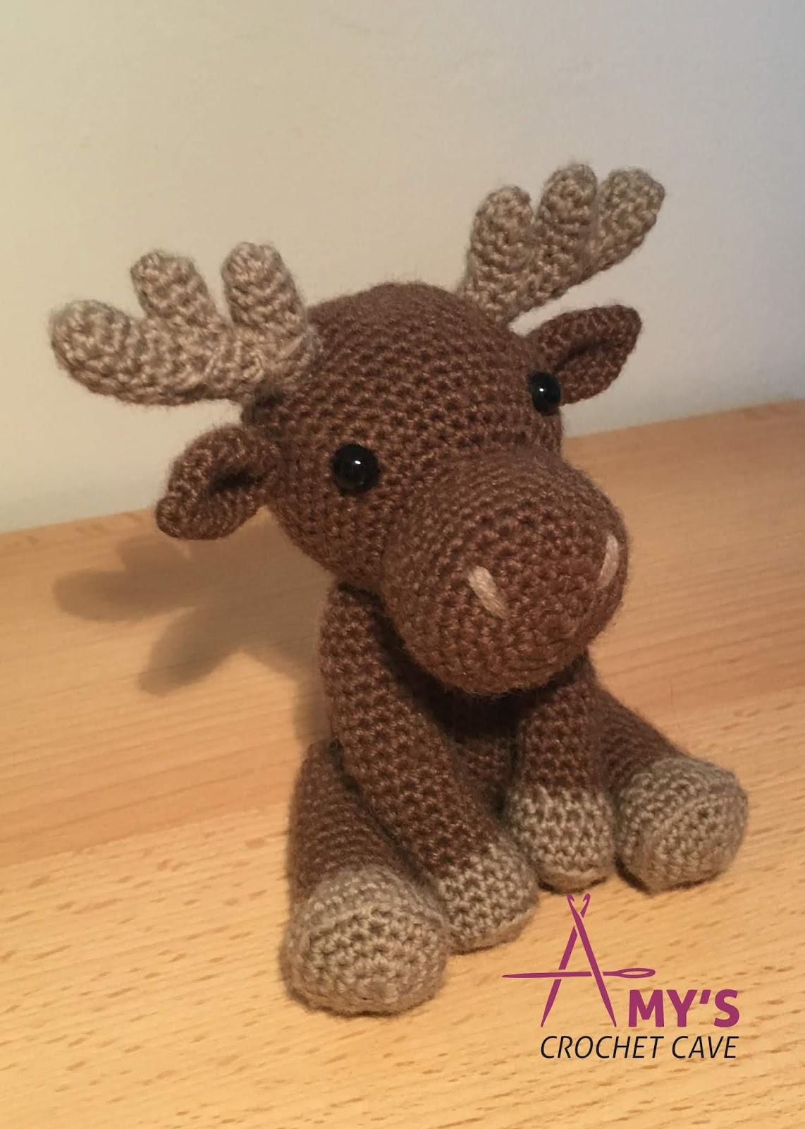 Crochet Amigurumi Max The Moose