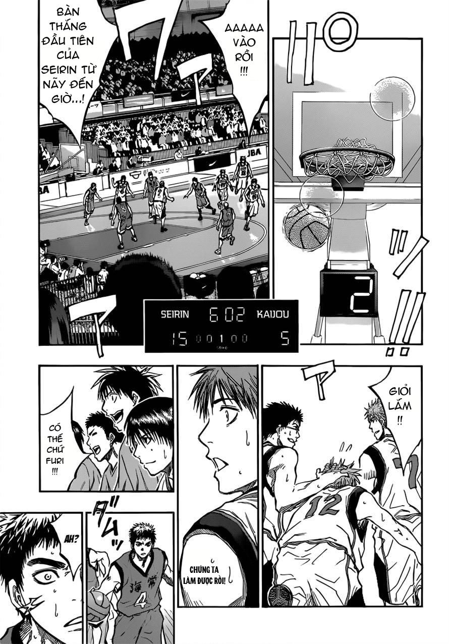 Kuroko No Basket chap 187 trang 9