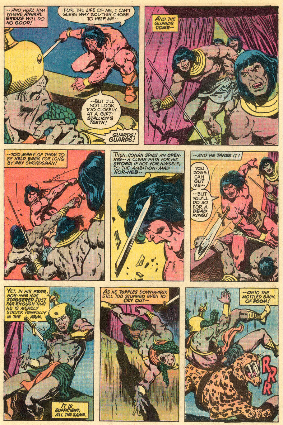 Conan the Barbarian (1970) Issue #77 #89 - English 16