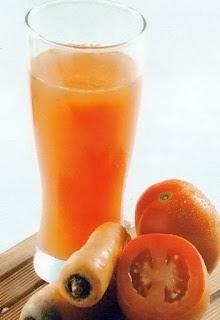 resep jus tomat campur wortel
