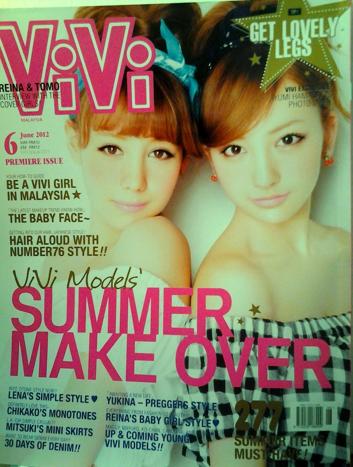 Comparative Eye: VIVI Magazine Malaysia