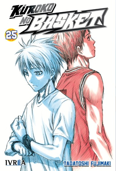 """Reseña de """"Kuroko no Basket"""" (黒子のバスケ) vol. 25 de Tadatoshi Fujimaki - Ivrea"""