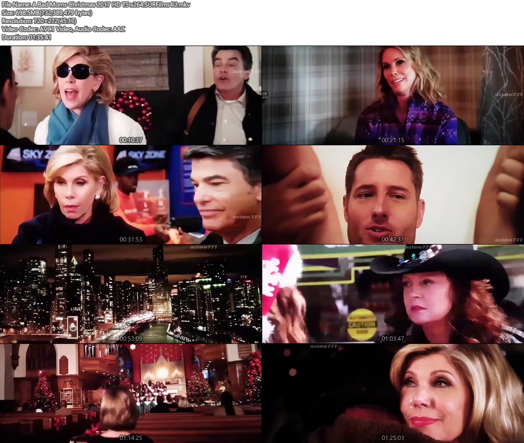 A Bad Moms Christmas 2017 720p HD TS 700MB x264 Screenshot