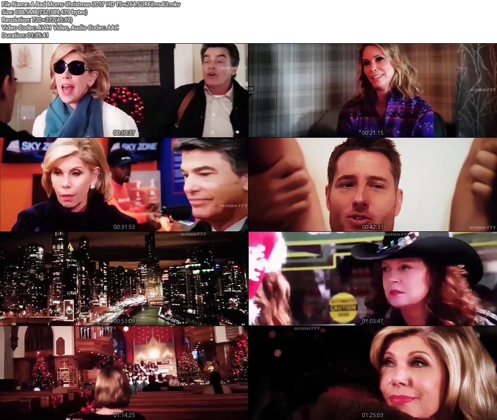 A Bad Moms Christmas 2017 720p HD TS 700MB x264 Screenshot