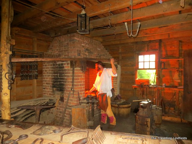 Blacksmith's Forge at Mount Vernon